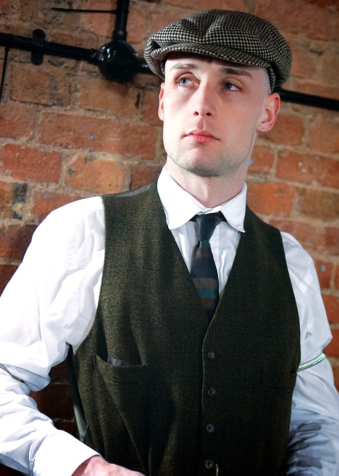 Shannon Clayton As Tommy Shelby