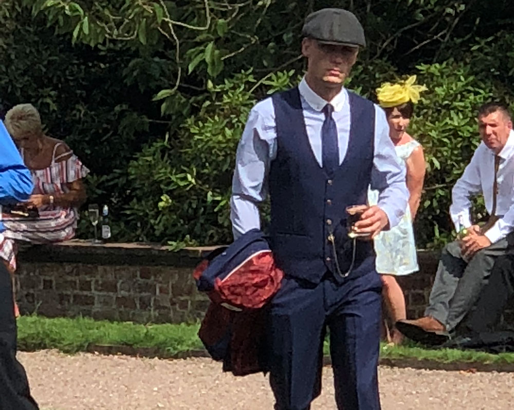 Arley Hall Peaky Blinders Themed Wedding
